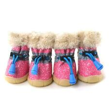 Pet Dog Boots Anti-Slip Shoes Puppy Cat Shoes Protective Snow Booties Waterproof