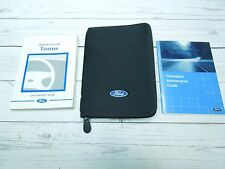2002 FORD TAURUS OWNERS MANUAL WITH CASE