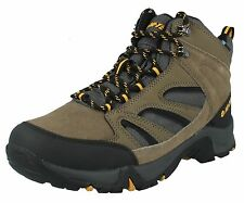 MENS HI TEC IDAHO WATERPROOF WALKING HIKING CONSTRUCTION LACE UP ANKLE BOOTS