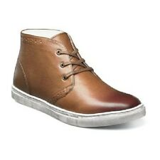 Stacy Adams Wynton Chukka Boot smooth leather Cognac Multi cushioned 53431-229