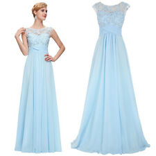 Elegant Evening Party Ball Prom Gown Formal Bridesmaid Cocktail Long Dress 2-16