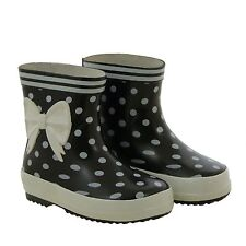 KIDS GUMBOOTS -SOOTY GUMBOOTS-BLACK AND WHITE