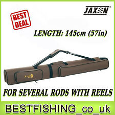 Jaxon X-Team TV Tube 1.58yd hard case to transport rods Rod case, rod holdall