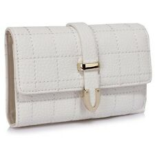 Flap Over Purse / Wallet With Zip Pocket