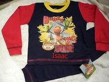 Personalised Dinosaur Train Buddy pyjamas age 18 months - 4 years with a name