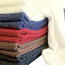 Salon Towels by the Dozen - 100% Natural Cotton - 5 Colors to choose from