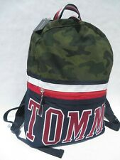 Tommy Hilfiger Large Gym Duffle Bag Packable Harbor luggage Bags Black Blue NEW