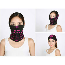 Bicycle Ski Half Face Mask Scarf Multi Use Neck Warmer Winter Outdoor Dust-proof