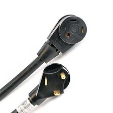 ALEKO 25-ft 30A 3 Wire RV Cord With Small Plug With Female Terminal