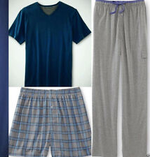 MEN JOE BOXER PJ PAJAMA 3 PC PIECE SET SHIRT PANTS BOXER