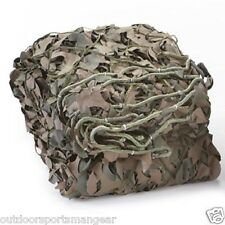 Military Style 3D Camo Netting Desert Woodland Camp Rip Stop Duck Blind Cover