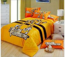 *** Transformer Bumblebee Single Bed Quilt Cover Set - Flat or Fitted Sheet ***