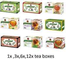 Bioprograma Tea Different  Variations 1,3,6,12 boxes x /20 tea bags in each box/