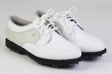 New FOOTJOY Women's GREENJOYS Closeout Golf Shoes Classic White/Gray #48704 NWT