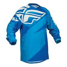 Fly Racing NEW Mx 2016 F-16 Blue Kids Motocross Dirt Bike BMX MTB Jersey