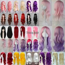 "Fashion Women Wigs Long Straight Cosplay Costume Halloween Party Wig 23""/32""/40"""