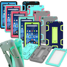 """Hybrid Stand Shockproof Case Cover For Amazon Kindle Fire 7.0"""" 7 inch 2015 Gen"""