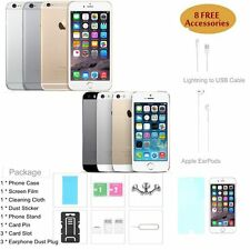Apple iPhone 5 5S 5C 6 6 Plus 16GB 32GB 64GB Unlocked Smartphone 4G LTE 8MP BTSY
