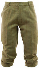 Men's Light Derby Tweed Breeks Trousers Plus Fours Breeches Hunting Shooting D35