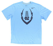 Nike Mens Dri Fit North Carolina Legend Logo T Shirt Blue
