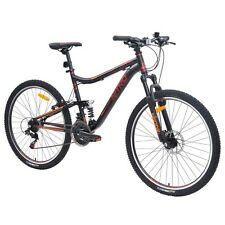 Nitro Traverse Men's Dual Suspension 650B Mountain Bike in Black