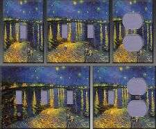 Starry Night Over The Rhone Wall Decor Light Switch Plate Cover