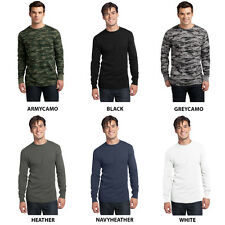 Mens Long Sleeve Crew Neck Thermal Shirt