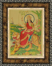 """Durga Amba Maa Exclusive Poster PHOTO FRAME * Size 7""""x9"""" *Table Top 