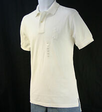 S NWT Polo Ralph Lauren Men's Mesh Big pony polo shirt, White, Classic fit S