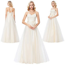 Long Evening Party Gown Prom Dresses Pageant Formal Bridesmaid Wedding Cocktail
