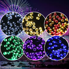 22M 200LED Solar String Starry Fairy Light For Garden Tree Wedding Party Outdoor