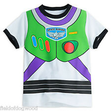 NWT Disney Store Toy Story Buzz Lightyear Costume Boy T Shirt 5/6,7/8,10/12