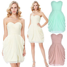 New Short/Mini Formal Prom Evening Dress Bridesmaid Party Ball Gown Homecoming