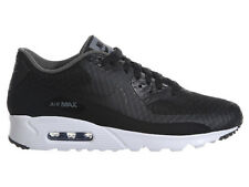 NEW MENS NIKE AIR MAX 90 ULTRA RUNNING SHOES TRAINERS BLACK / DARK GREY / WHITE