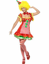 Ladies Sexy Boo Boo The Clown Circus Hen Do Outfit Fancy Dress Costume