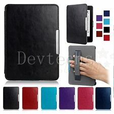 Magnetic Leather Stand Case Cover Auto&Wake Smart Amazon Kindle Paperwhite1 2 3