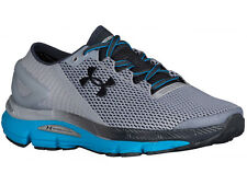 NEW MENS UNDER ARMOUR SPEEDFORM GEMINI 2.1 RUNNING SHOES TRAINERS OVERCAST GREY