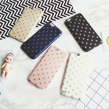 For iPhone 7 7Plus 6 6S Plus Cute Stars Elegant Case Cover
