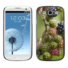 Hard Phone Case Cover Skin For Samsung Blackberries Ripening On Vine