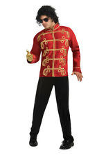 Brand New Michael Jackson Deluxe Red Military Jacket Adult Halloween Costume