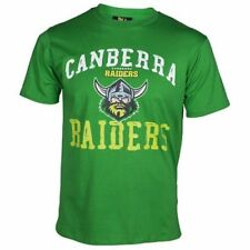Canberra Raiders NRL Supporter T-Shirt Tee BNWT Mens Rugby League Clothing