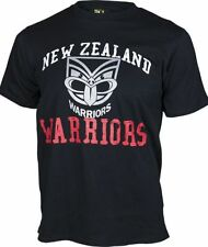 New Zealand Warriors NRL Supporter T-Shirt Tee BNWT Mens Rugby League Clothing