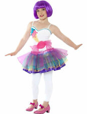 Child Mini Candy Girl Pop Star Fancy Dress Kids Costume Outfit