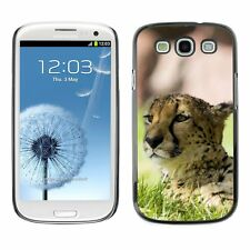 Hard Phone Case Cover Skin For Samsung Cheetah Animal Pattern