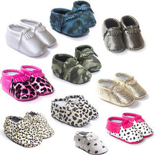 Infant Toddler Boys Girls Baby Shoes Soft Bottom Breathable PU Leather Shoe