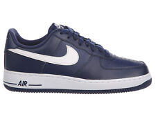 NEW MENS NIKE AIR FORCE 1 LOW BASKETBALL SHOES TRAINERS MIDNIGHT NAVY / MIDNIGHT