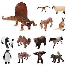 Realistic Wild/Zoo/Farm Dinosaur Animal Model Figure Kids Educational Toy Gift