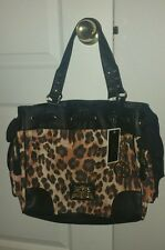 Juicy Couture Cheetah Daydreamer handbag