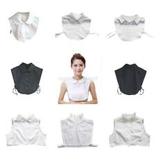 Women's Retro Detachable Peter Pan Lapel Shirt Fake False Collar Choker Necklace