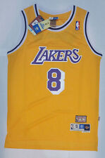 NBA Los Angeles Lakers Kobe Bryant # 8 Retro Swingman Men's Jersey Yellow Home